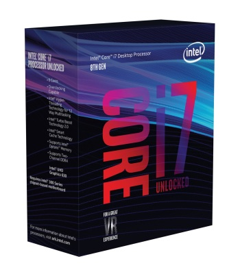 Intel Core i7 8th Gen プロセッサ